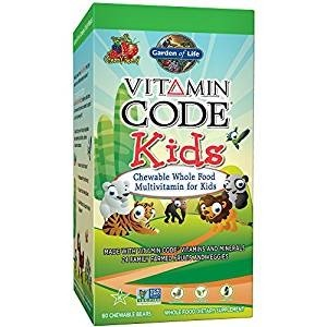 Garden of Life Vegetarian Multivitamin Supplement for Kids