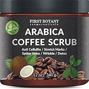 First Botany 100% Natural Arabica Coffee Scrub